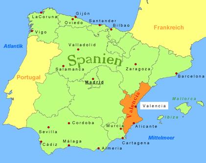Wo Liegt Valencia